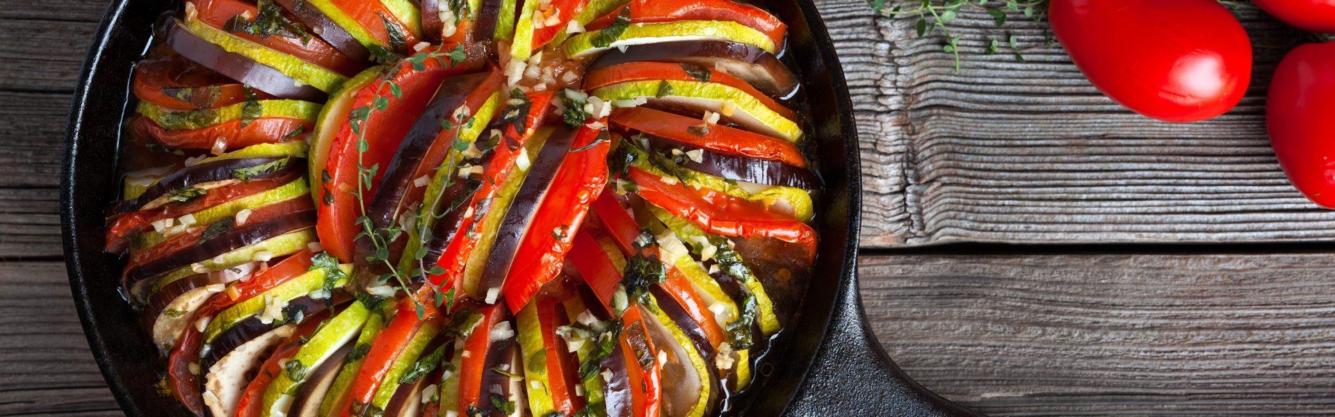 Ratatouille – miešaná zeleninová lahôdka
